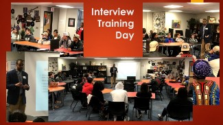 Interview Training Day Collage